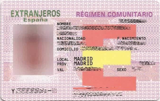 ¿Qué debo hacer si se me perdió la tarjeta NIE fuera de España?