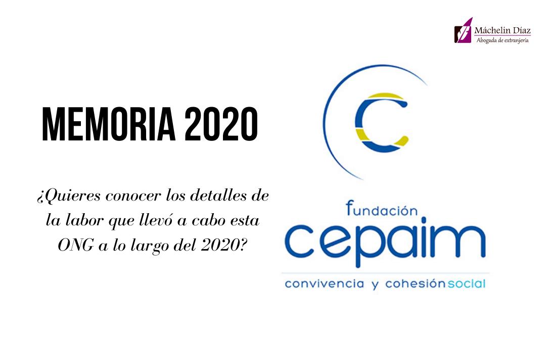memoria 2020 cepaim