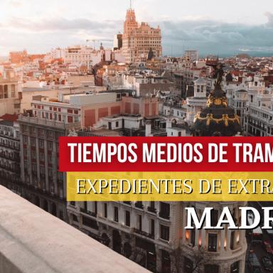 expedientes de extranjería madrid