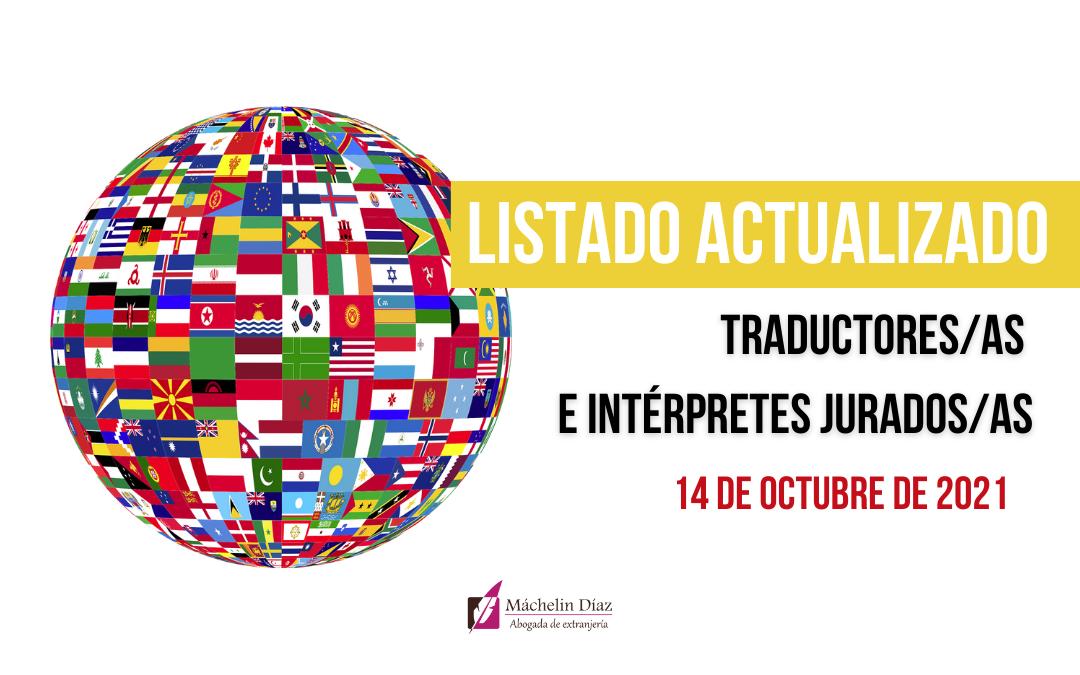 traductores - intérpretes jurados