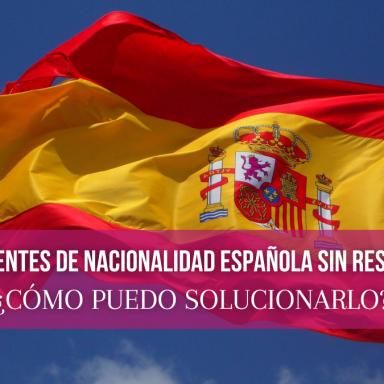 fases de expedientes de nacionalidad española